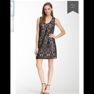 Robert Rodriguez silk lace shift dress size 2
